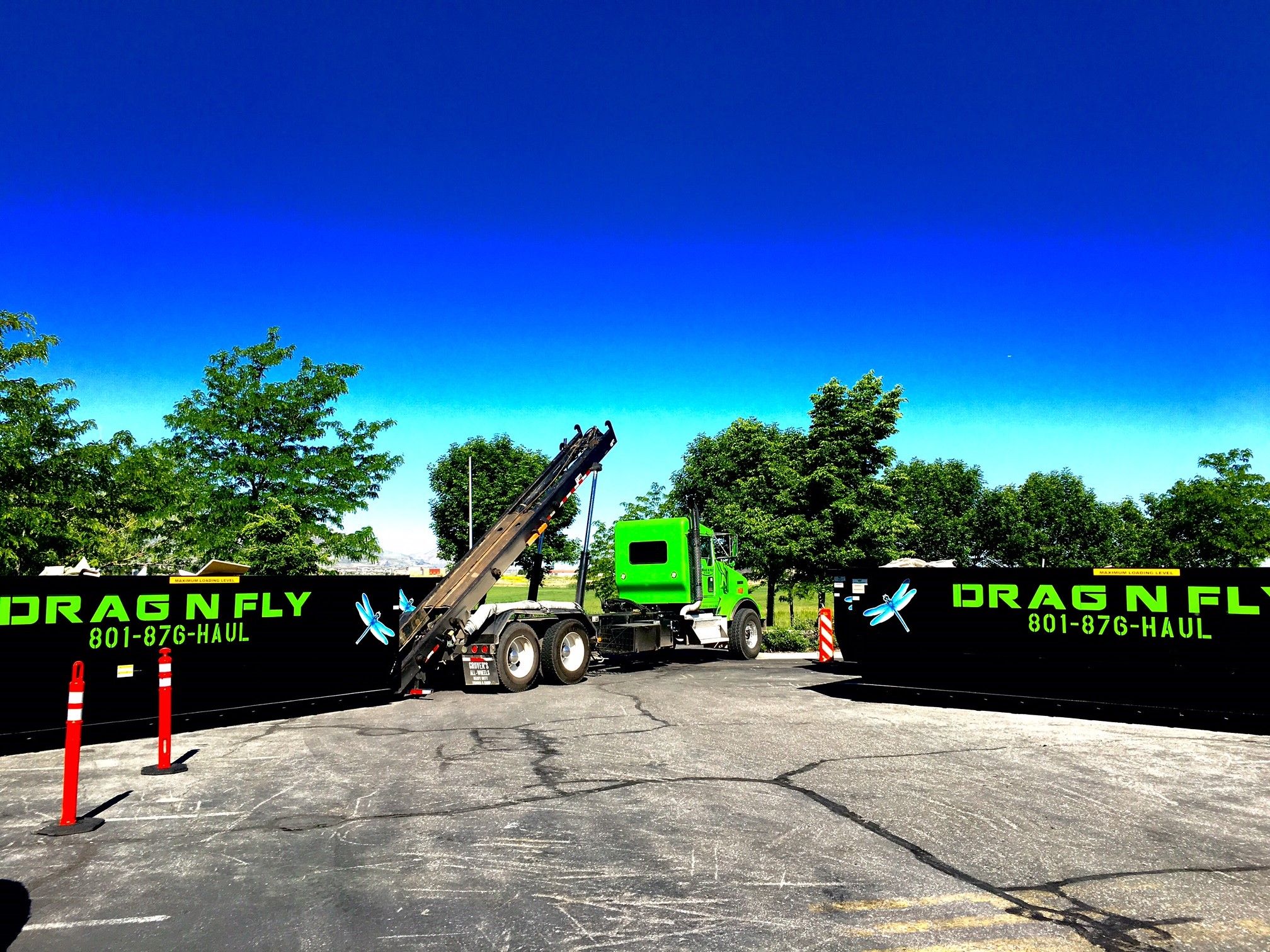 ROLL OFF DUMPSTERS FOR ANY SIZED PROJECT